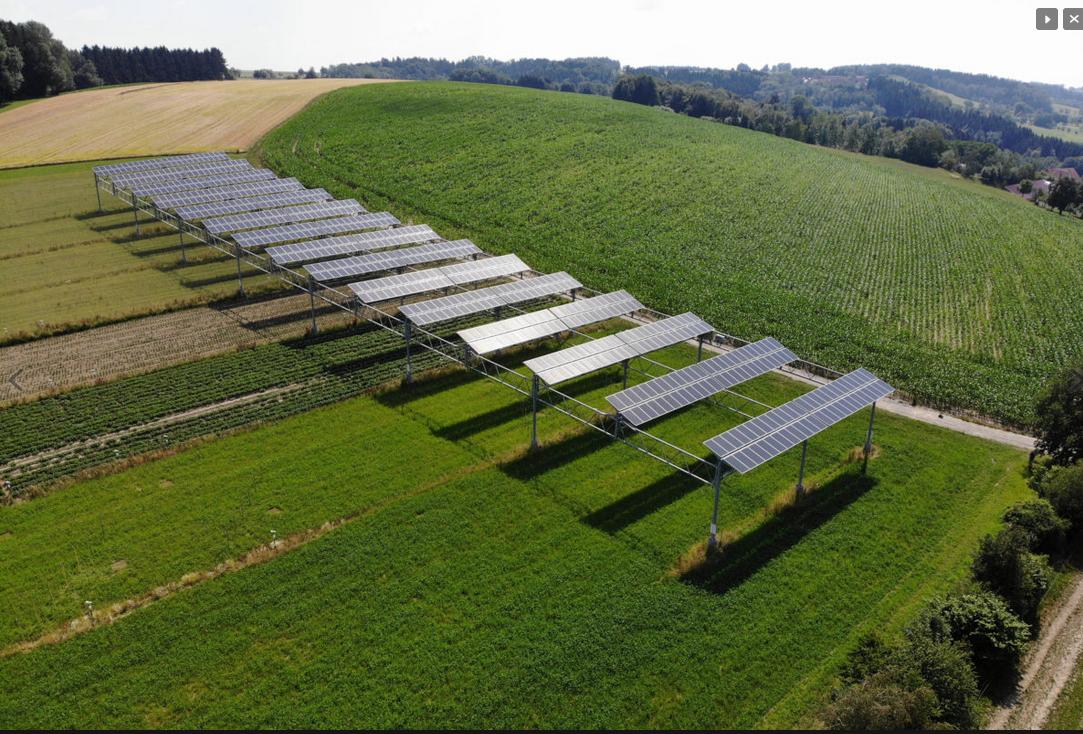 Agro-Photovoltaik, Urherber BayWa r.e., AEE, Baedeker EE, Süden, BW, Heggelbach