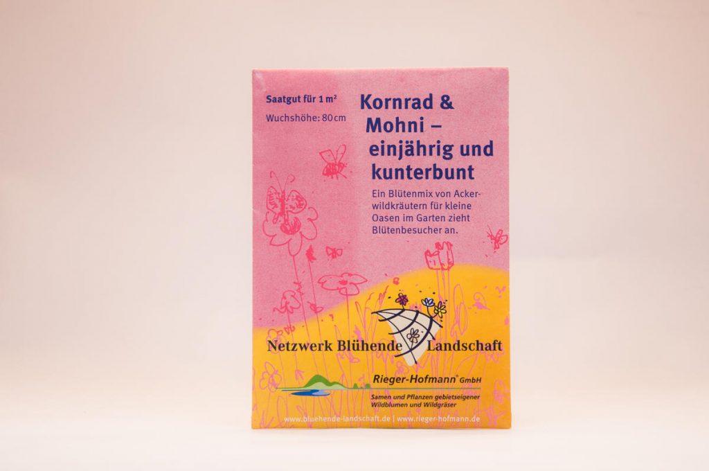 Saatgutmischung Kornrad und Mohni NBL-Tütchen