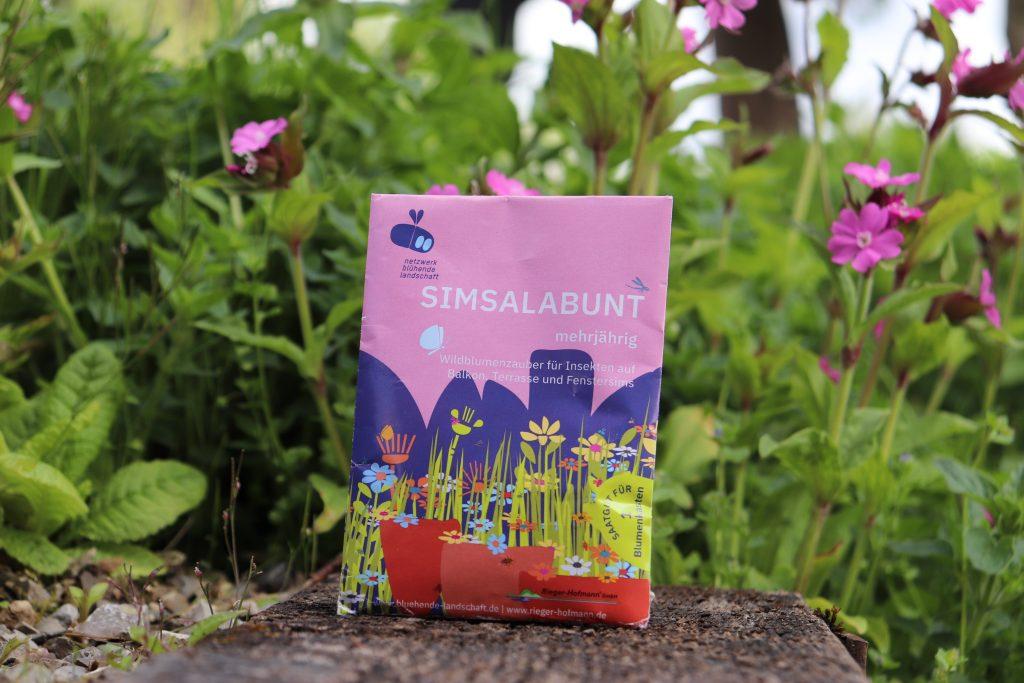 Simsalabunt Wildpflanzen-Saatgut für Balkon, Terrasse und Fenstersims